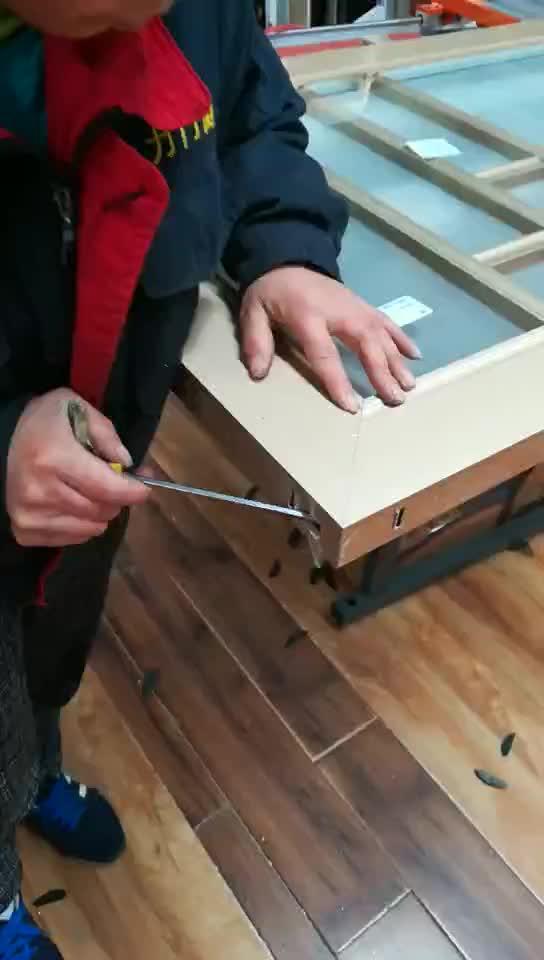 门窗生产工艺