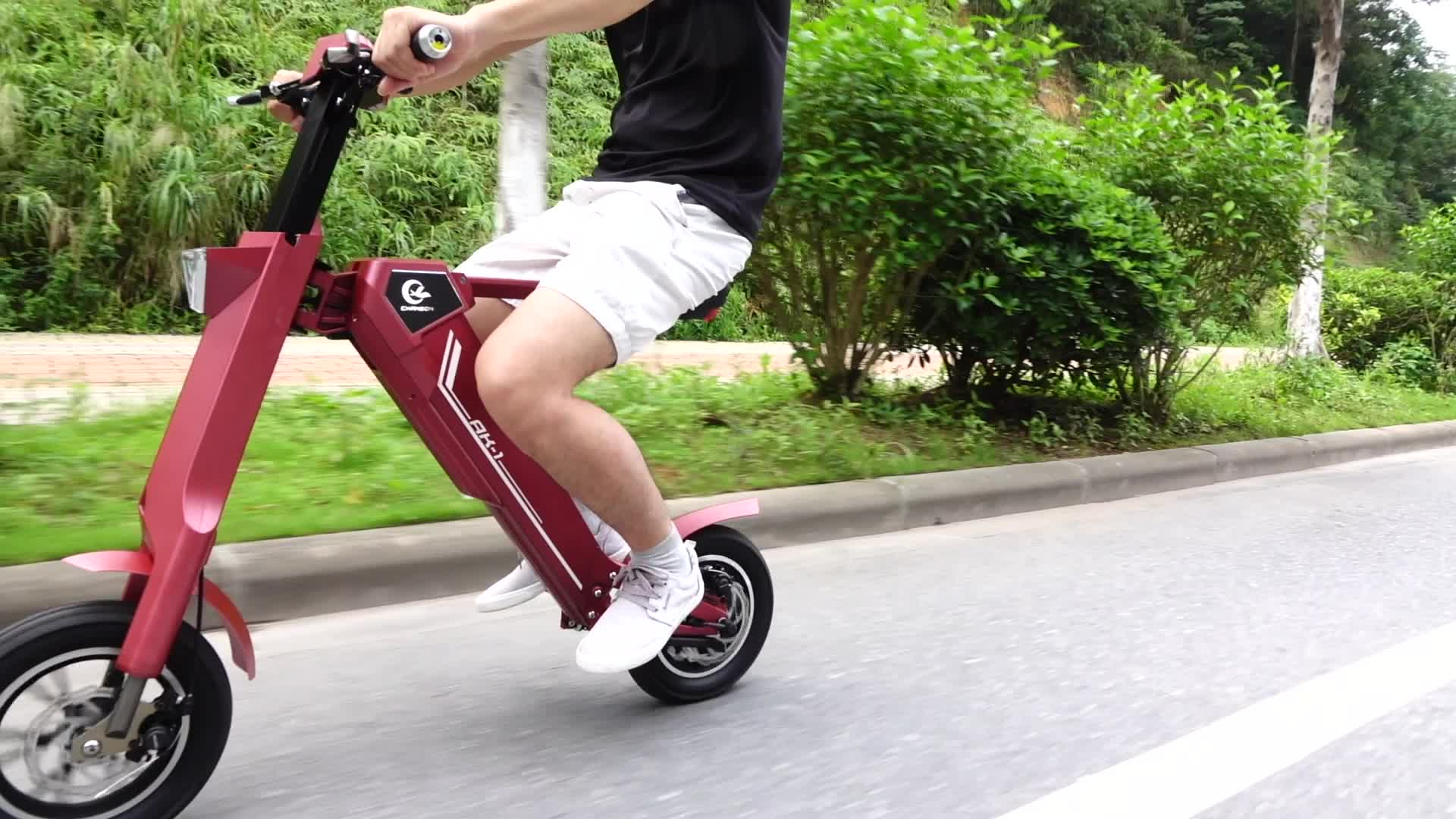 Smart Automatic Foldable Electric Scooter AK1-Shenzhen Chanson