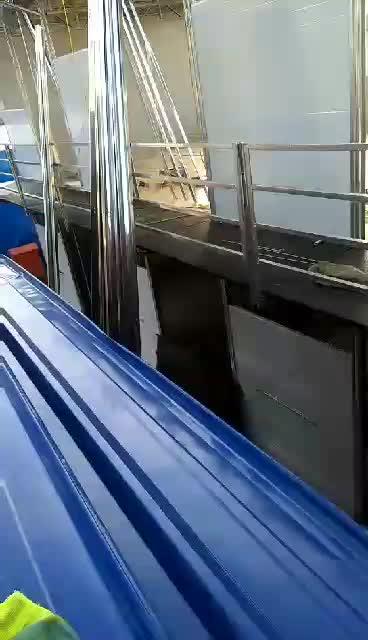 威海工地板房安装中