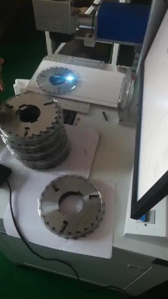 激光机现场打印效果