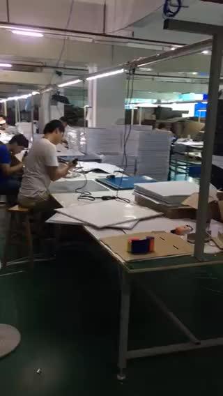 LED Light panel production