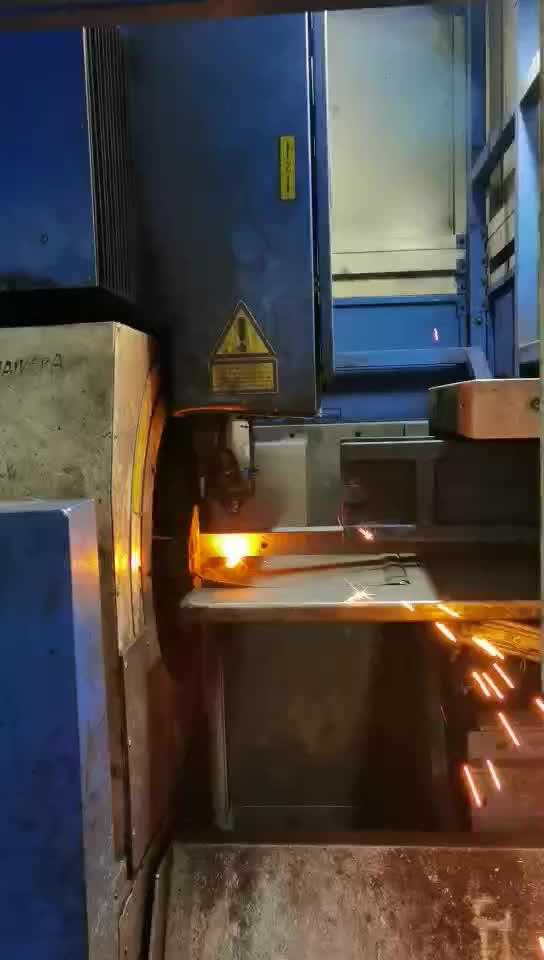 激光方管机加工 视频