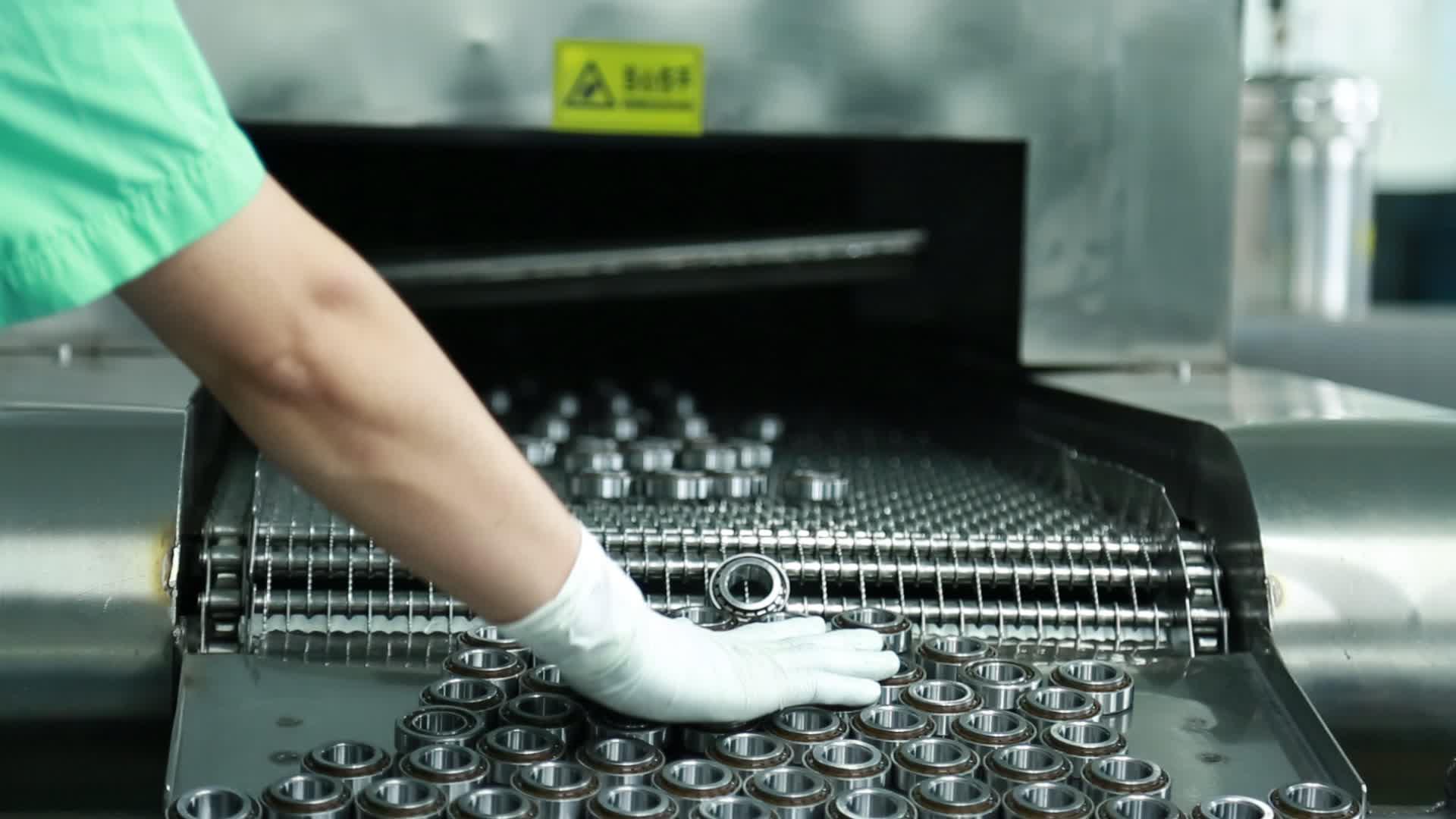 超声波清洗机-清洗轴承
