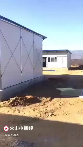 工地板房完工