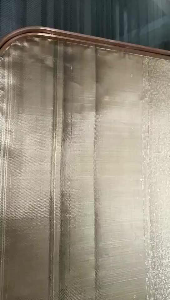 partiton of textile