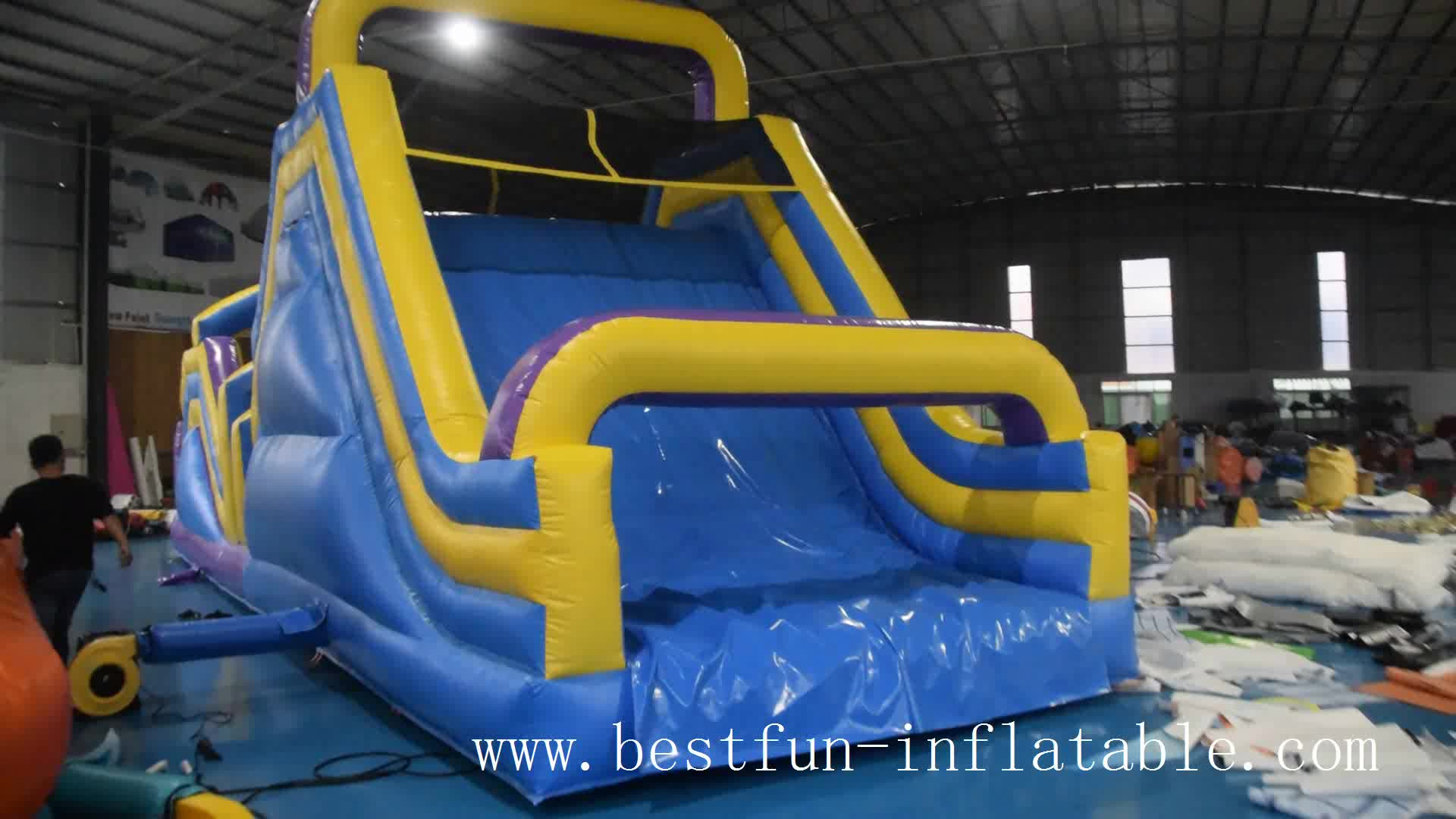 obstacle course equipment inflatable sport games